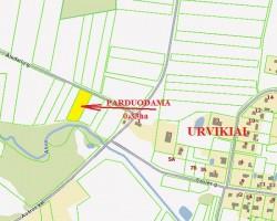 parduoda zeme Mazeikiu rajone Urvikiu kaime 0.33ha www.1procentas.lt